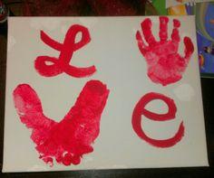 Toddler Valentine prints
