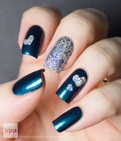 BA STAR Glitter #nail #nails #nailsart