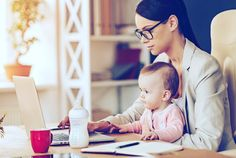 Édes kis kolléga! TE vitted már magaddal a munkába a gyerekedet?