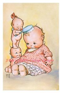 Kewpie dolls.