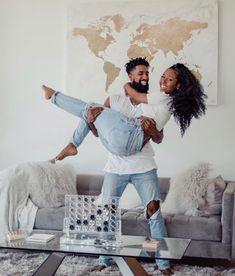 Black Love is Beautiful 🖤 Couple Photoshoot Poses, Photoshoot Themes, Couple Shoot, Black Love Couples, Cute Couples Goals, Black Couples Tumblr, Art Love Couple, Matching Couples, Couple Goals