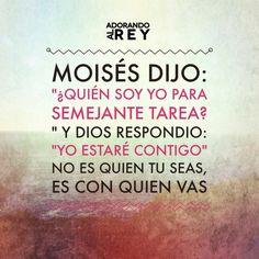 Yo voy con Dios...y tu?