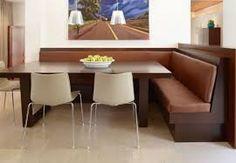 Image result for corner breakfast table