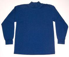 Boys Blue Long Sleeve Shirt Size M 10-12 Eagle USA #EagleUSA #DressyEverydaySchool