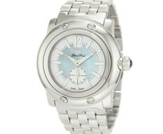 Glam Rock Men's Miami Blue Mother-Of-Pearl Dial Stainless Steel Watch ►► http://www.gemstoneslist.com/mens-watches/glam-rock-mens-watches.html?i=p