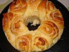 Imagem da receita Rosca de coco (pão doce)