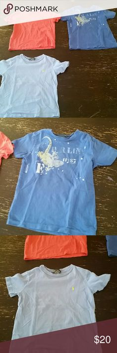 Polo by ralph lauren top Boys Polo by ralph lauren t-shirt pre-owned 7a6e82bfc77