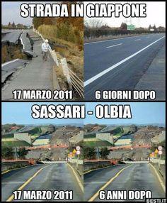 Strada in Giappone