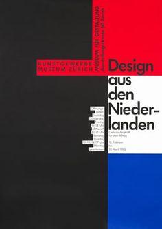 Odermatt, Siegfried poster: Design - Niederlanden