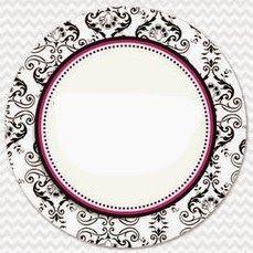 Ideas y material gratis para fiestas y celebraciones Oh My Fiesta!: Damascos Negros: Etiquetas, Toppers y Tarjetas para Imprimir Gratis.