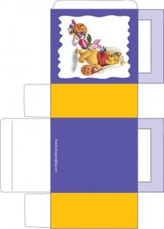 Pooh and Halloween 3, Winnie The Pooh, Favor Box - Free Printable Ideas from Family Shoppingbag.com