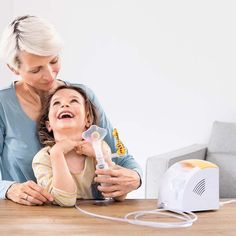 Beurer IH 26 Kids Nebuliser🧸 The child-friendly IH 26 nebuliser is the perfect companion for asthma, colds and respiratory diseases. The provided accessories make inhalation easier for babies and children. Inhalation, Child Friendly, Ih, Asthma, Bag Storage, South Africa, German, Medical, Wellness