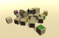 Rubics Cube (Unity3D and Maya)