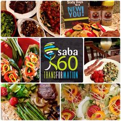 This is an example of the amazing meals my whole family enjoys eating! These are all part of the Saba 60 meal plan. In fact, these meals are from the first 5 days (the most strict part) of the plan. It's not a diet, it's a lifestyle and a healthier way to fuel your body! I am down 20 pounds and I feel better than I ever have. What are you waiting for?!?