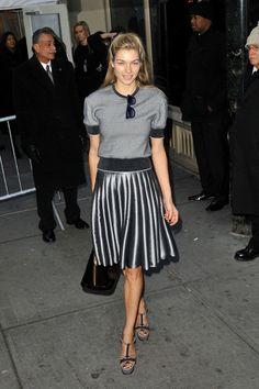 Jessica Hart Knee Length Skirt