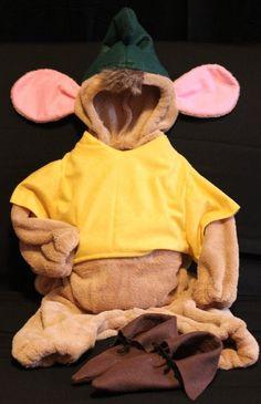 Cinderella GUS GUS costume CUSTOM size infant / by tatrodanielle, $59.99