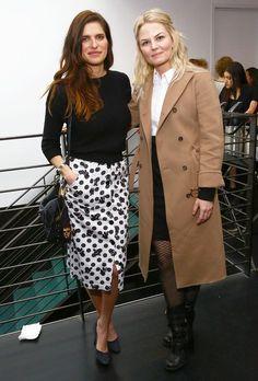 Lake Bell and Jennifer Morrison at the Coach Women\