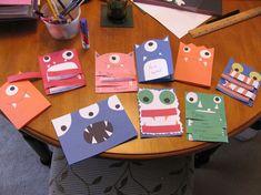 homemade monster invitations