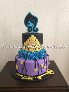 Ever After High Cake