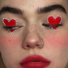 Beauty, Makeup and Gold We Heart It de resim - .-Schönheit, Make-up und Gold We Heart It de resim – Beauty, makeup and gold We Heart It de resim – up - Makeup Goals, Makeup Inspo, Beauty Makeup, Makeup Ideas, Red Makeup, Eyeshadow Makeup, Gothic Makeup, Fairy Makeup, Crazy Makeup