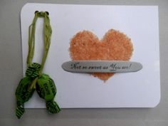 Sweet as Sugar Valentine Card
