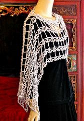 Crochet Blusas Ravelry: Alzannah Custom Convertible Vest pattern by Vashti Braha - Alzannah is a quick to crochet vest that converts easily to an asymmetrical Poncho Au Crochet, Crochet Vest Pattern, Poncho Shawl, Crochet Blouse, Crochet Scarves, Crochet Clothes, Crochet Lace, Crochet Vests, Crochet Stitches