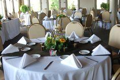 The Cypress Inn Loft Rehearsal dinner centerpieces
