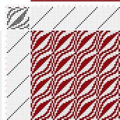 draft image: Figure 379, A Handbook of Weaves by G. H. Oelsner, 16S, 16T