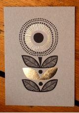 "beautiful post card/print ""sunflower"""