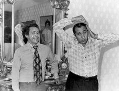 Simón Díaz junto a su hermano #Joselo