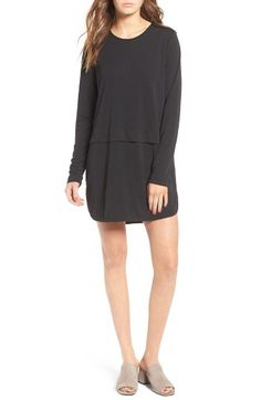 SINCERELY JULES Sincerely Jules 'Savoy' Long Sleeve Shirtdress available at #Nordstrom