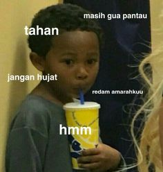 Memes Indonesia Sabar 50 New Ideas Memes Funny Faces, Cute Memes, Funny Relatable Memes, Funny Jokes, Cartoon Jokes, Cartoon Images, All Meme, Memes In Real Life, Me Too Meme