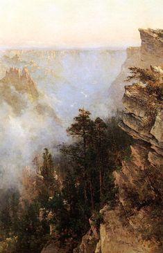 Yosemite Canyon by Thomas Hill