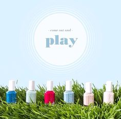 Essie Spring 2014 Colors! What's your favorite?
