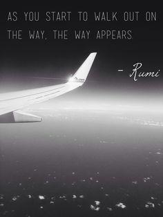 Rumi. The way.