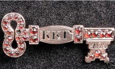 Pre 1900 kkg badge- 29 rubies & yellow gold