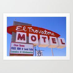 Motel+Art+Print+by+Golidgoods+-+$17.68