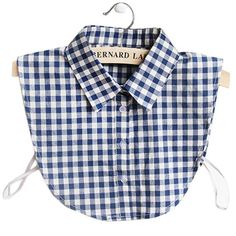 Item Type: Ties Pattern Type: Plaid Department Name: Adult Gender: Women Style: Fashion Material: Cotton,Polyester Size: One Size Model Number: L99 Ties Type: Detachable collars