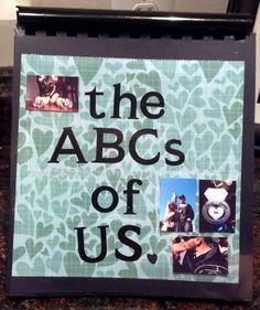 Creating Virginia Anne: ABC book of us  www.creatingvirginiaanne.blogspot.com