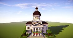 minecraft hall town provincial blueprints planetminecraft tutorial