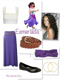 Esmeralda  Disney Inspired Outfits.... Maybe something longer than that crop top