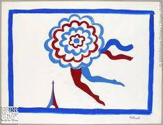 * affiche de Villemot années 1960