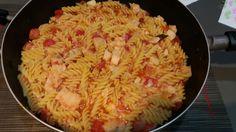 Massada bacalhau Macaroni And Cheese, Fresh, Ethnic Recipes, Food, Cod, Pasta, Kitchen, Parks, Mac And Cheese