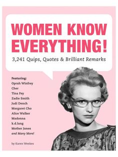 Women Know Everything! by Peguin Random House at Gilt