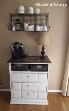 coffee bar ideas - Coffee Bar Ideas - Looking for some coffee bar ideas? Here you'll find home coffee bar, DIY coffee bar, and kitchen coffee station. #coffeebar #coffee #coffeebarideas #coffeebardesign
