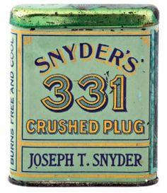 Snyder's 331 Tobacco Tin