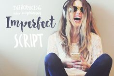 Imperfect Calligraphy Script by Vera Holera on Creative Market