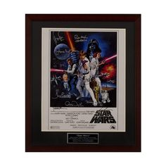 For the Star Wars fan in your life - how about an autographed Star Wars Episode IV poster? (10 Autographs) – Mark Hamill, Carrie Fisher, Harrison Ford, Peter Mayhew, Anthony Daniels, Kenny Baker, David Prowse, James Earl Jones, George Lucas (Director) and John Williams (Composer)  And all for a good cause: #MVHH Celebrate with us our 30 years of #BuildingDreams #BuildingHope in the Merrimack Valley. Bid early and bid often. Deadline is May 21, 2016 11:59 PM Eastern.