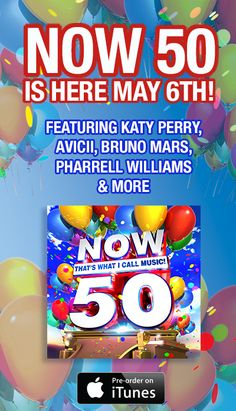 Pin to Win every single @Now Thats Music! release from 1-50 before #NOW50 is here May 6th!