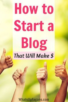 A great tutorial on how to start a blog! Plus it includes great tips to set up a blog right so that it will hopefully make money from home.